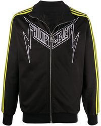 Philipp Plein Спортивная Куртка Evil Smile - Черный
