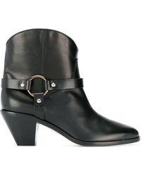 Francesco Russo - Buckle Detail Boots - Lyst