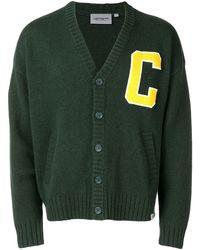 Carhartt WIP C Patchwork Cardigan - Green