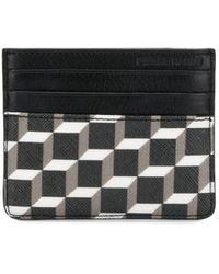 Pierre Hardy ブラック And ホワイト Cube カード ホルダー