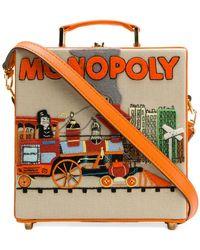 Olympia Le-Tan - Clutch Monopoly Train - Lyst