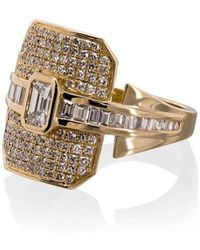 SHAY - 18k Yellow Gold Ring - Lyst