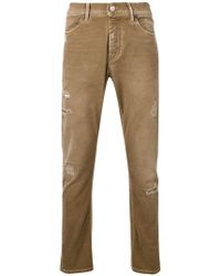 Jeckerson - Distressed Slim Jeans - Lyst