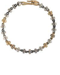 M. Cohen Multi-colour Chain Bracelet - Metallic