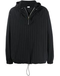Paul Smith Striped pullover jacket - Noir