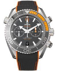 "Omega ""Orologio Seamaster Planet Ocean 600M Chronograph 45,5mm mai indossato 2020"" - Nero"