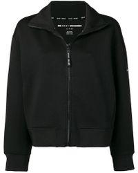 DKNY ロゴ ボンバージャケット - ブラック