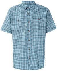 Patagonia - Plaid Boxy Shirt - Lyst
