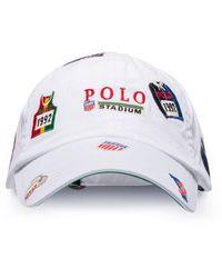 Polo Ralph Lauren Casquette à patch logo - Blanc