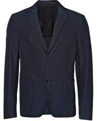 Prada - テクニカル シングルジャケット - Lyst