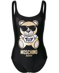 Moschino - Toy Teddy Bear Swimsuit - Lyst