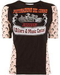 Marine Serre - グラフィック Tシャツ - Lyst