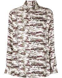 Victoria Beckham - カモフラージュ Tシャツ - Lyst
