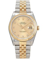 Rolex 1990 Pre-owned Datejust 36mm - Metallic