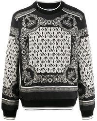 Dolce & Gabbana Толстовка С Принтом - Черный