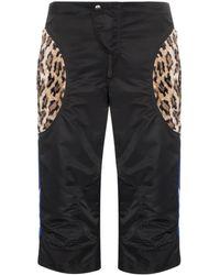 Martine Rose - Leopard-patch Motocross Shorts - Lyst