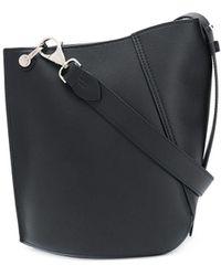 Lanvin Small Hook Shoulder Bag - Black