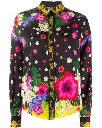 Versace Jeans Couture - フローラル シャツ - Lyst