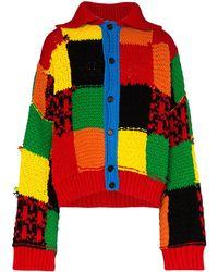 JW Anderson Vest Met Colourblocking - Rood