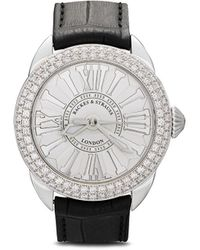 Backes & Strauss Piccadilly Horloge - Wit