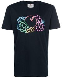 Cedric Charlier - Fruit Of The Loom Gradient T-shirt - Lyst