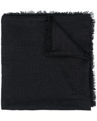 Philipp Plein Logo-embellished Scarf - Black
