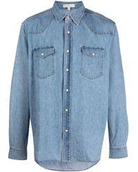 Alex Mill Western Denim Pocket Shirt - Blue
