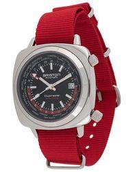 Briston クラブマスター ワールドタイム 42mm 腕時計 - ブラック