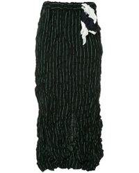 Facetasm - Wrap Style Skirt - Lyst