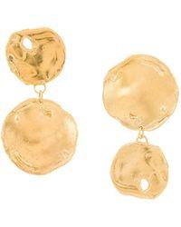 Alighieri The Flame 24k Gold-plated Earrings - Metallic