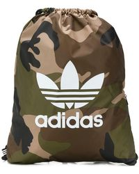 adidas - Camouflage Drawstring Backpack - Lyst