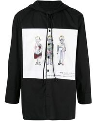 BMUET(TE) - プリント フーデッドシャツ - Lyst