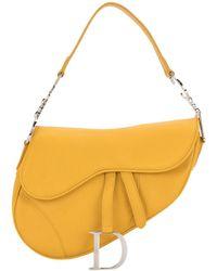 Dior Сумка Saddle - Желтый