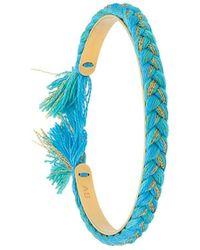 Aurelie Bidermann Copacabana Armband - Blauw