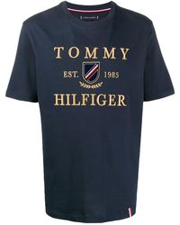 Tommy Hilfiger Sky Captain Tシャツ - ブルー