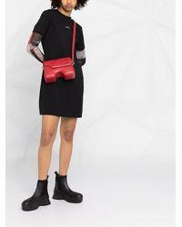 Calvin Klein Платье-футболка С Логотипом - Черный