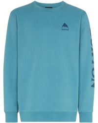 Burton Elite Crew-neck Sweatshirt - Blue
