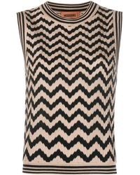 Missoni Geometric Pattern Knitted Top - Multicolor