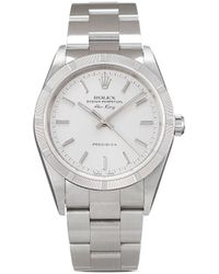 Rolex 1998 Pre-owned Air-king Precision Horloge - Metallic