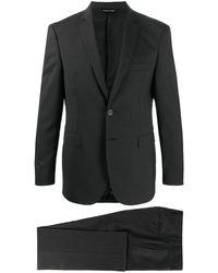 Tonello テーラード シングルスーツ - グレー