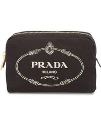 Prada - Косметичка На Молнии - Lyst