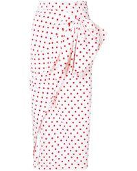 Bambah - Polka Dot Ruched Skirt - Lyst