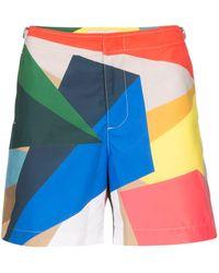 Orlebar Brown Short de bain Prism x Rob Wyn Yates - Multicolore