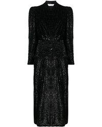 IRO ベルベット ドレス - ブラック