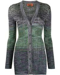 Missoni Colour-block Cardigan - Green