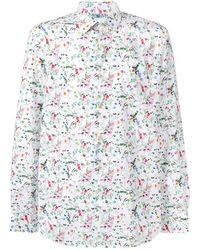 Paul Smith Camisa con motivo floral - Multicolor