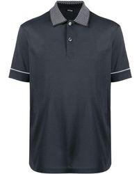 Kiton - コントラストカラー ポロシャツ - Lyst