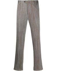 Missoni Wave-pattern Pants - Gray