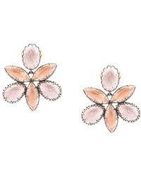 Larkspur & Hawk Sadie Orchid Ballet ピアス - マルチカラー
