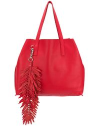 P.A.R.O.S.H. - Fringed Oversized Shopping Bag - Lyst